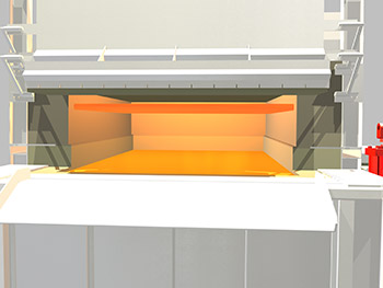 3D Schaefer Furnace Front